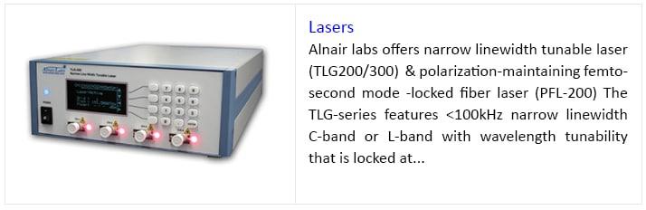 lasers, Alnair Labs